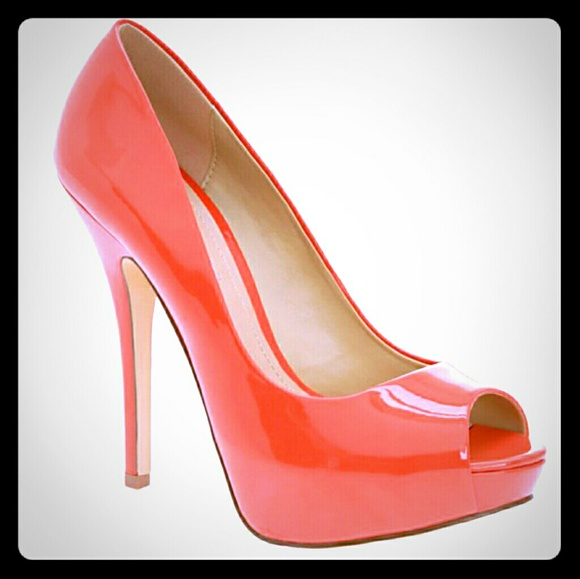 80e5987dd07 Aldo Coral Patent Leather Platform Peep-Toe Pumps